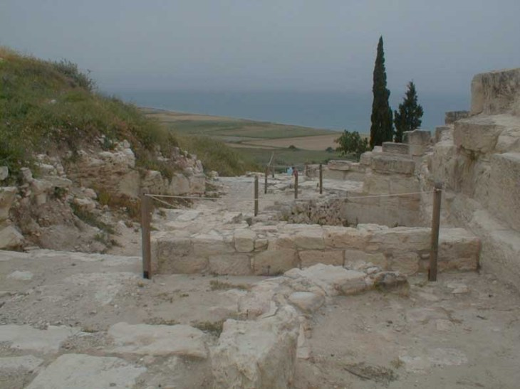 More evidence of Kourion earthquake