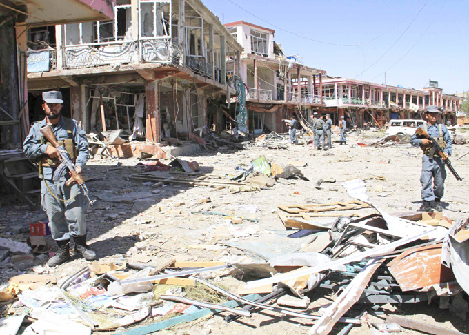 Taliban bombs hit Afghan army vehicles, killing at least seven