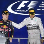 Hamilton seizes control after Singapore win