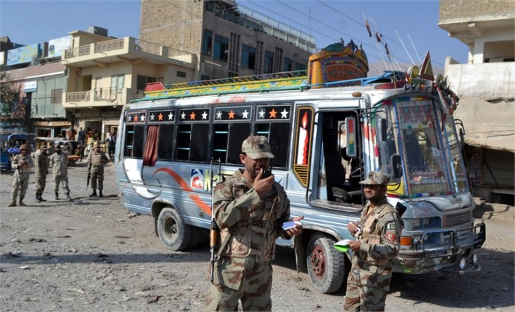 Eight Pakistani Shi'ites killed in sectarian attack