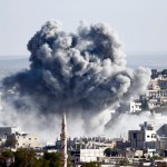 US-led air strikes killed 521 fighters, 32 civilians in Syria