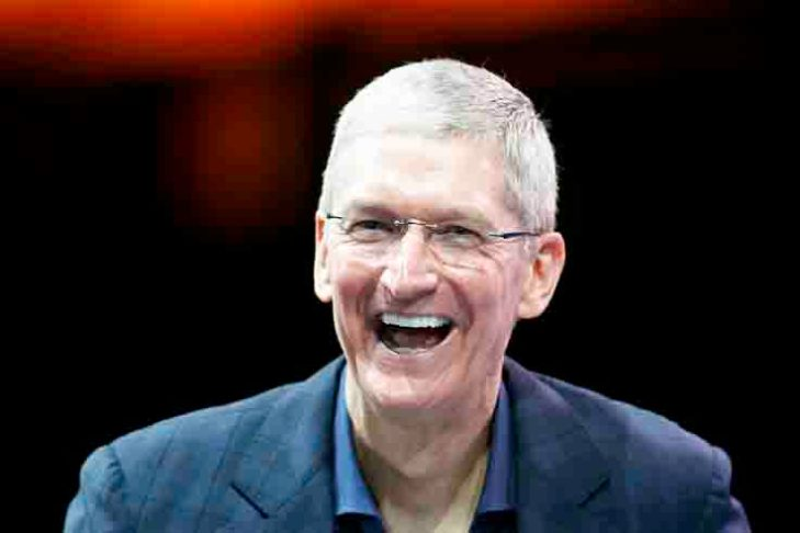 Apple's Tim Cook says 'proud to be gay'