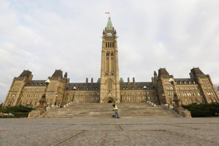 Soldier shot near Canada's parliament; shooter at large