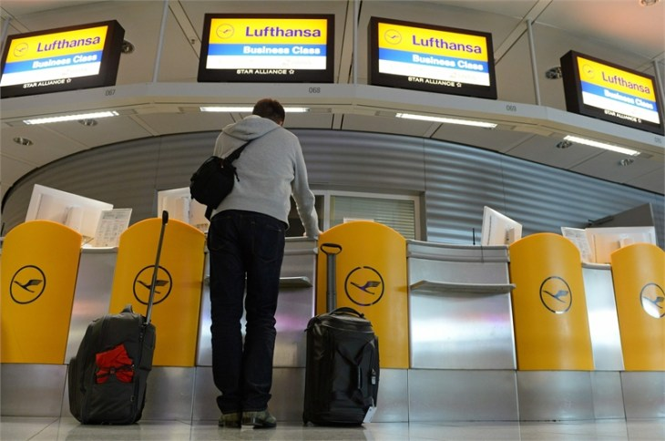 Lufthansa cancels flights due to pilots strike; train stoppage strands millions