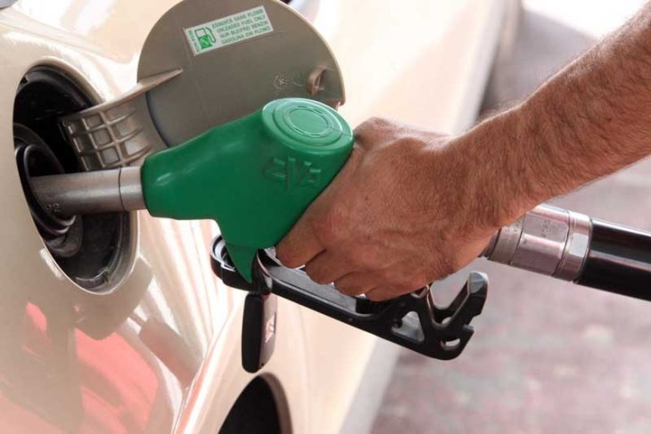 Petrol prices going down