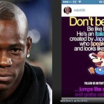 Balotelli banned and fined for 'Super Mario' post