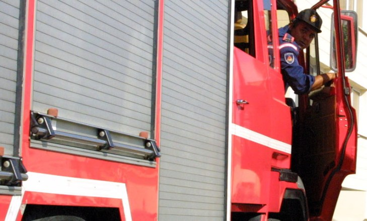 Spate of arson attacks keep police and fireman busy