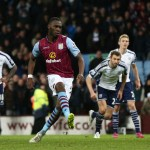Last-gasp Benteke penalty hands Sherwood first win at Villa
