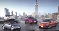 Beetle mania in NY: four new versions of iconic Bug
