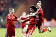 Fellaini goal earns Belgium 1-0 win over Israel