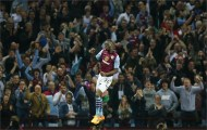 Benteke strikes again as Villa sink Spurs