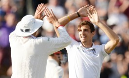 Finn's five wickets put England on brink of victory