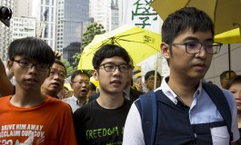 Face of Hong Kong student protests charged with two more offences