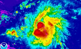 Tropical Storm Erika lashes Caribbean islands and heads for Florida