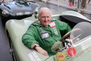Driving legend and oldest contestant runs mpg marathon