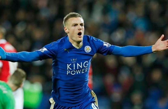 Vardy scores in 11th straight game to set Premier League record