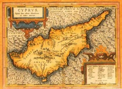 Ottoman Cyprus map