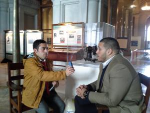 Osman entrevista Taino