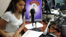 Laura entrevistando Heriberto