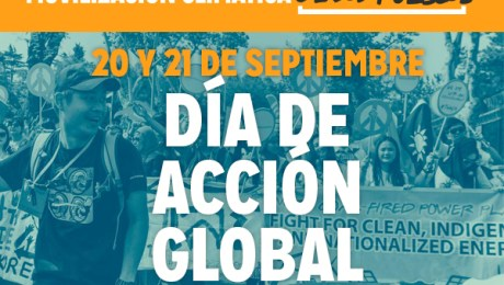 Movilización de los pueblos contra cambio climática