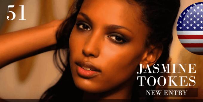 ジャスミン・トオークス 世界で最も美しい顔100人