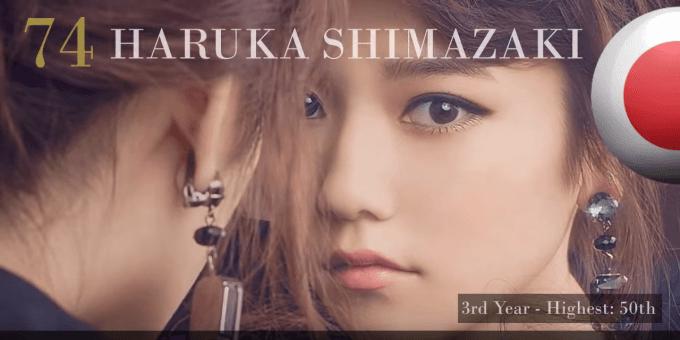 島崎遥香 世界で最も美しい顔100人