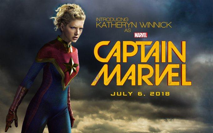2019年公開のキャプテンマーベル画像