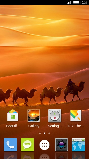 Theme for ZTE V870 free android theme – U launcher 3D