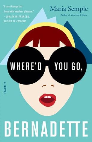 Beach Reading - Where'd you go bernadette book cover