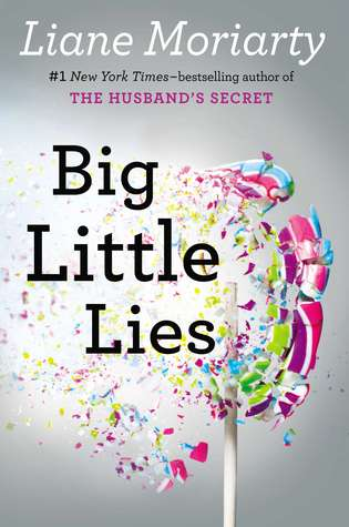 Beach reading - Big Little Lies book cover