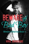 Beware of Bad Boy by April Brookshire