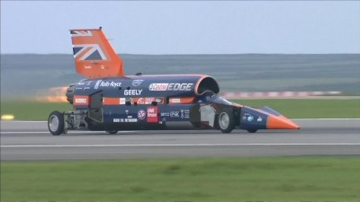 The 1,000mph car is go: Bristol-built Bloodhound to run for first time this October