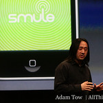 Next up, Smule, the developer responsible for the Ocarina iPhone app.