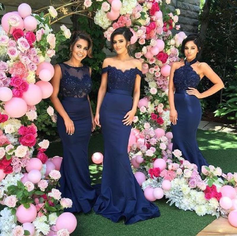 Large Of Navy Bridesmaid Dresses