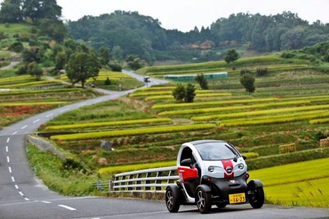 小型電気自動車「MICHIMO」