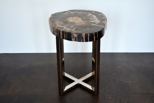 Medium Of Wood Side Table