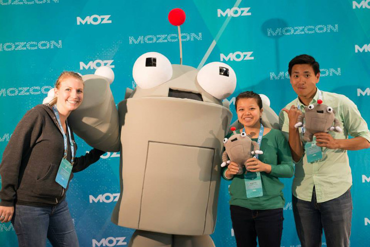 Roger and friends at MozCon