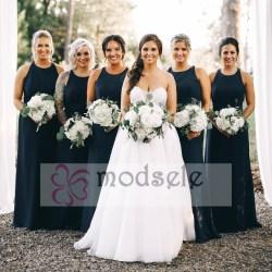 Small Of Navy Blue Bridesmaid Dresses