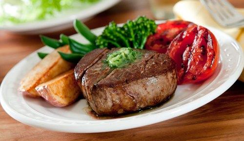 Medium Of Grilled Beef Tenderloin