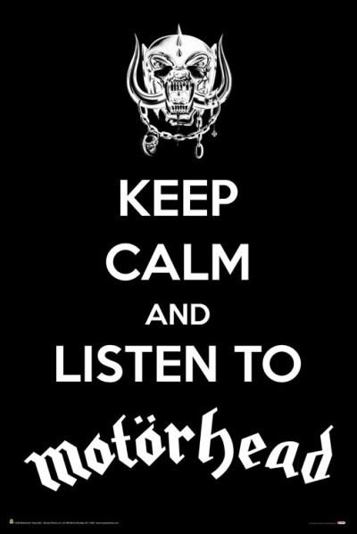 Listen To Motorhead Poster - Buy Online at Grindstore.com
