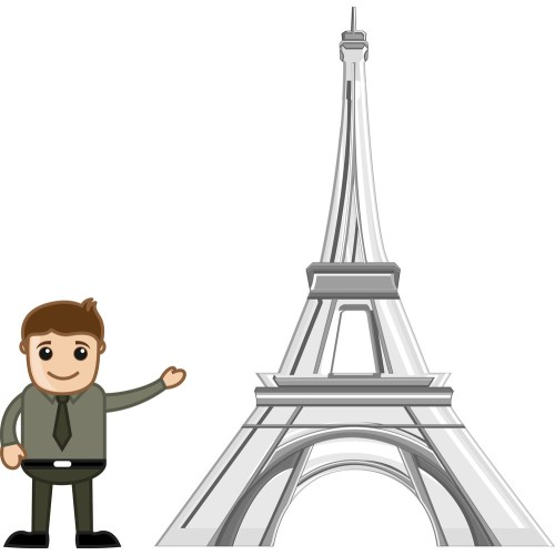 Medium Crop Of Eiffel Tower Cartoon