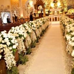 Ceremony Décor Photos All White Ceremony Flowers Inside Weddings