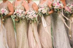Considerable Rustic Bouquets Bridesmaid Metallic Bridesmaid Dress Styles From Real Sequin Bridesmaid Dresses Kc Sequin Bridesmaid Dresses Christina Wu Metallic Sequin Bridesmaid Dresses