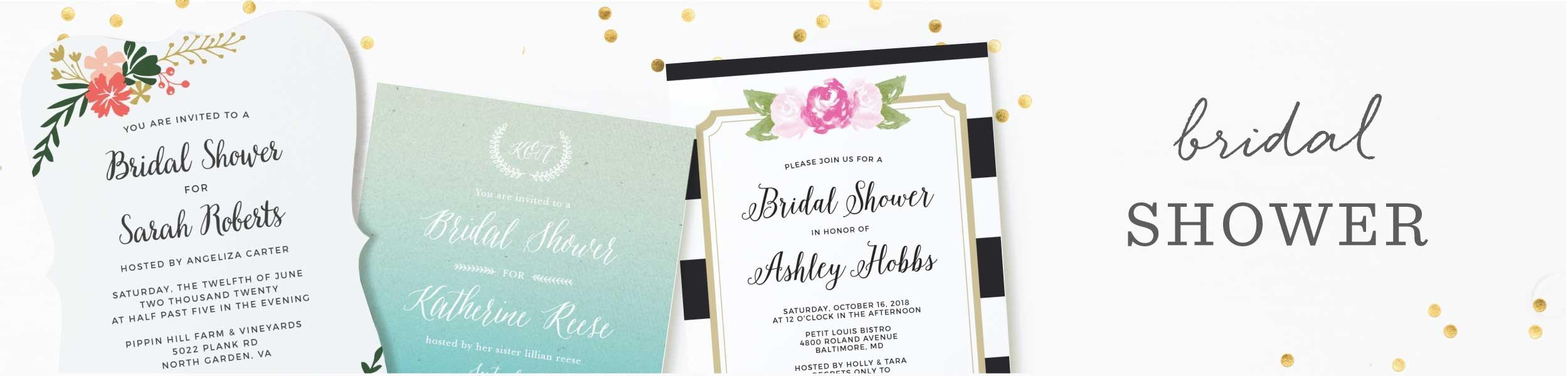 Fullsize Of Bridal Shower Invitations