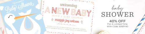 Medium Of Elephant Baby Shower Invitations