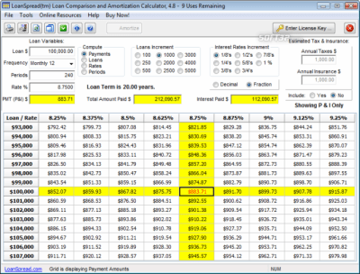 Download Free Loan Calculator 4.7.1