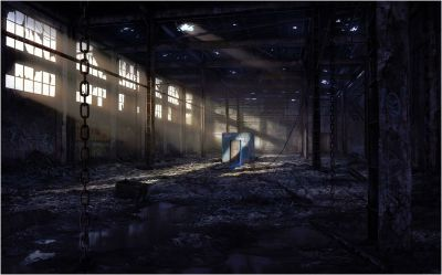 Abandoned Warehouse - Wallpaper - Faxo - Faxo