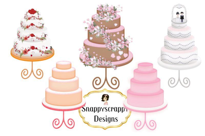 Large Of Wedding Cake Clipart