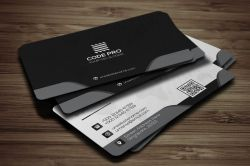 Small Of Modern Business Card