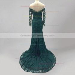 Small Crop Of Dark Green Dress
